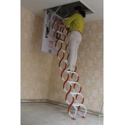 隐形伸缩楼梯-聊城伸缩楼梯-扶居阁楼梯图片