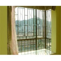 彩钢儿童防护窗定制,金刚网窗订做,宣城彩钢儿童防护窗图片