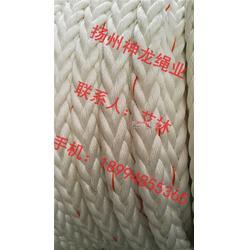 涤纶八股绳缆 锦纶十二股缆绳图片