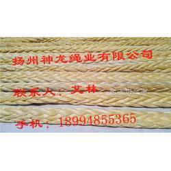 超高分子量聚乙烯十二股船用缆绳图片