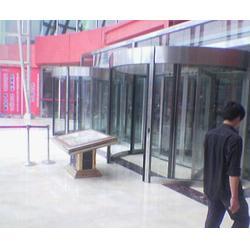济宁自动旋转门、安凯义专业系统开发、plc自动旋转门图片