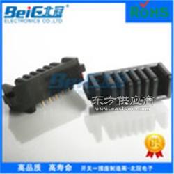 厂家直销2.5间距电池座 2P防呆电池连接器 插件DIP 环保公母图片