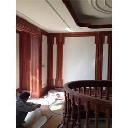 扶墙板吊顶、恒基木业、原木门扶墙板吊顶招商加盟图片