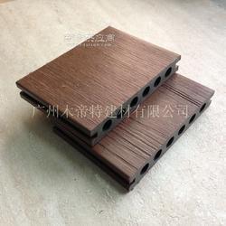 第二代共挤木塑地板户外园林景观常用地板防水地板生态木塑木地板图片