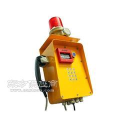 工业应急话机 紧急通话装置 扩音IP电话机 矿用网络扩音电话 隧道救援设备图片