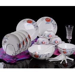 诚德陶瓷商行(图),骨质瓷 餐具 套装,骨质瓷餐具图片