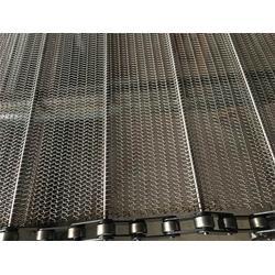 昆明输送带网-森喆金属网链厂家-网带提升机输送带网图片