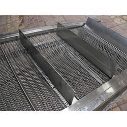 蛋糕冷却线不锈钢输送带-森喆烘干耐高温网链-昆明金属网带图片