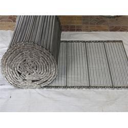 加固型输送网带_链条网带_森喆不锈钢编织型输送网带(查看)图片