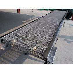 耐腐蚀金属输送网带厂|水草提升网带输送机|佛山网带输送机价格