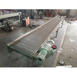 森喆板链输送设备厂家 不锈钢板输送带报价-金华链板图片