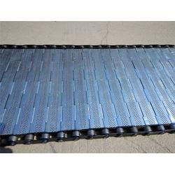 高温退火炉输送链板-森喆不锈钢传送带网(在线咨询)淮安链板图片