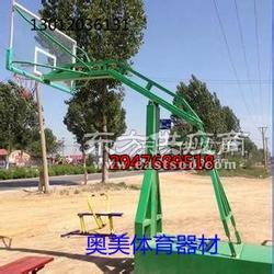 移动式篮球架介绍,方管篮球架图片