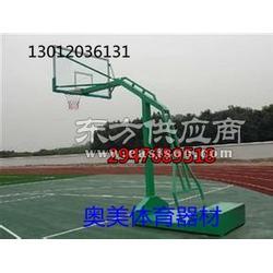学校拆装篮球架燕氏槽钢底座篮球图片