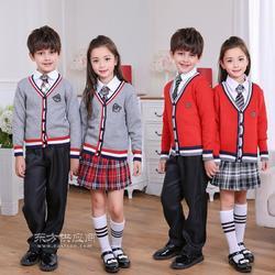 学生校服毛衣加工生产厂家图片