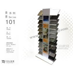 石英石落地架 人造石展架 可装IPAD 含广告灯箱 R101图片