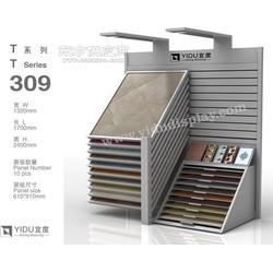 60斜角不锈钢滑动组合瓷砖展架图片