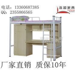揭阳学生双层铁架床专业生产来样定做高效生产图片