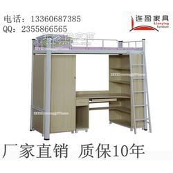揭阳宿舍上下铺铁床厂家,20年生产经验 连盈家具图片