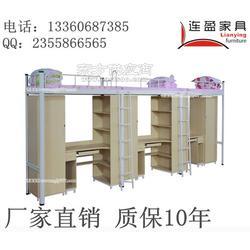 揭阳小学双层铁床厂家 连盈 质量保证 安全第一图片