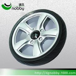 8寸实心eva轮子 烧烤炉轮子 工具车轮子 购物车轮子图片