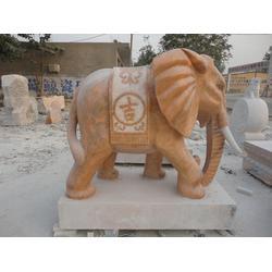 石雕大象厂家、河北石雕大象、垣古石雕图片