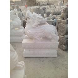 垣古石雕貔貅、门口雕刻貔貅、雕刻貔貅图片