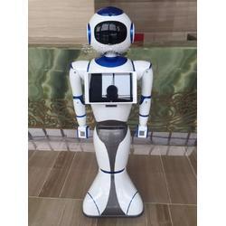 小新迎宾导览机器人图片