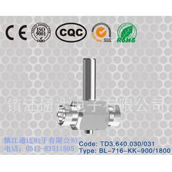 福州射频连接器 通达电子三同轴连接器 射频连接器厂家