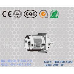 射频连接器种类、通达电子三同轴连接器、四会射频连接器图片