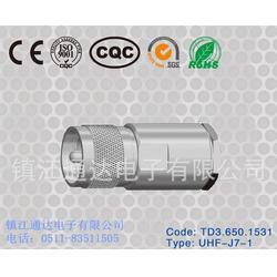 通达电子同轴连接器(图)-射频连接器厂家-丹阳射频连接器图片