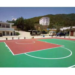 塑胶篮球场厂家 西安塑胶篮球场-宝鸡塑胶篮球场图片