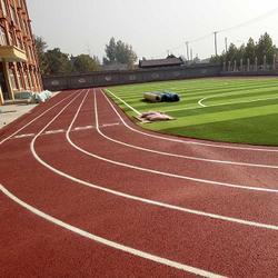 漢中塑膠跑道材料-西安康特塑膠-榆林塑膠跑道圖片