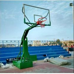 西安康特塑胶 篮球架哪家好-延安篮球架批发