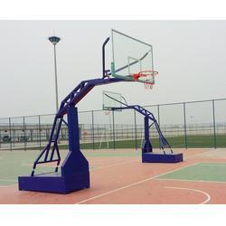 篮球架安装-咸阳篮球架-西安康特塑胶图片