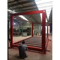三门峡拼装箱框架_供应拼装箱框架_捷维诺拼装箱型材厂家图片