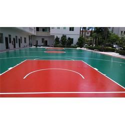 室外篮球场_室外篮球场地面有哪些材质_金成体育图片