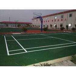 慈利县丙烯酸羽毛球场|金成体育|承接学校丙烯酸羽毛球场图片