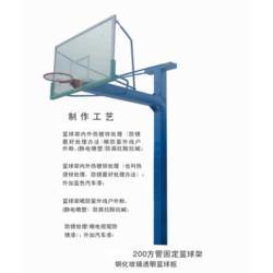 篮球架拉杆安装方式,金成体育,石门县篮球架拉杆图片