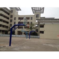 儿童篮球架生产厂家、儿童篮球架、金成体育图片