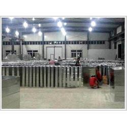 天津通风管道、天津共板法兰风管选捷维诺、专业制造通风管道图片