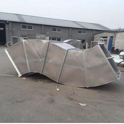 咸水沽镀锌风管|天津风管加工选捷维诺|镀锌风管图片