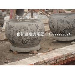 青石石雕鱼缸厂家直销图片