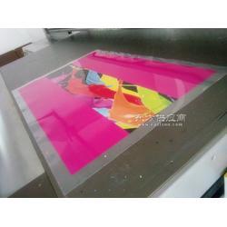 透明软膜UV印刷,不干胶贴喷绘加工,PET彩绘图片