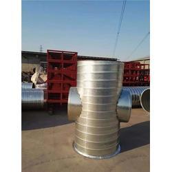 平谷铁皮风管|北京风管加工选捷维诺|铁皮风管加工图片