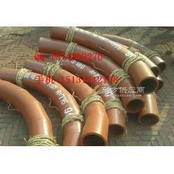 耐磨管道管件 陶瓷弯头钢衬陶瓷耐磨弯头图片