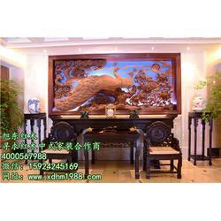 东阳大红酸枝家具专业定制, 旭东红木精雕细琢图片