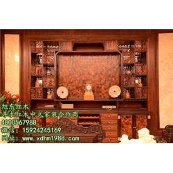浙江东阳老挝大红酸枝家具推荐-旭东红木-老挝大红酸枝家具图片