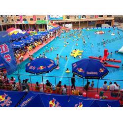 海晏县支架游泳池、河南沃金、支架游泳池厂家图片