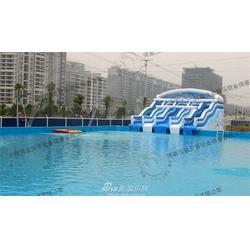 嵊州市支架游泳池、河南沃金、支架游泳池图片